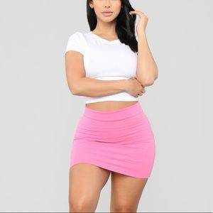 fashion nova mini skirt